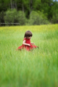 Little girl In Red memory