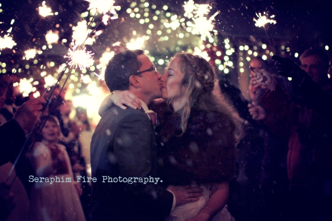 Colorado wedding photography, Denver, Wedding, Sparkler exit, Love