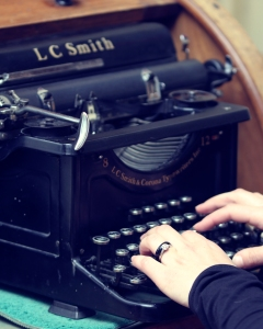 Ann Arbor Michigan, Seraphim Fire Photography, Typewriters